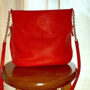 Tory Burch Ivy Leather Convertible Shoulder Bag